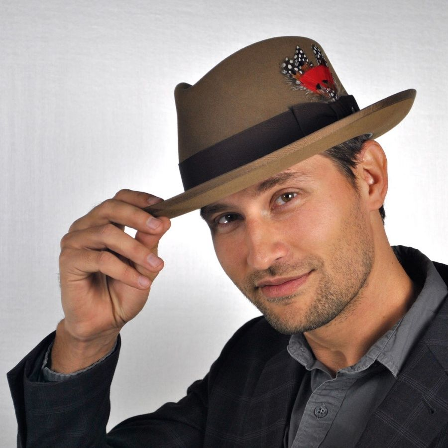 Tipping The Hat For Thank You Notes With A Smile Felt Fedora Fedora Hat Hats For Men