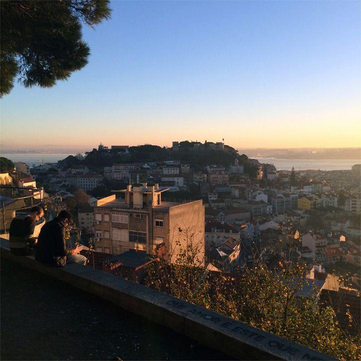 Lis Os Miradouros De Lisboa Places To Go San Francisco Skyline Seattle Skyline