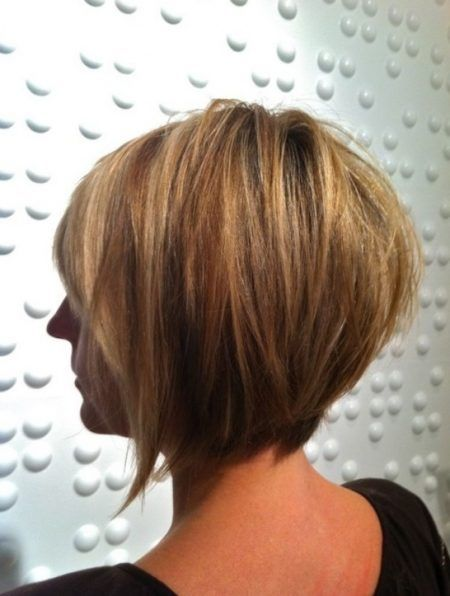 Short Inverted Bob Haircuts Back View For Haircut Correspond To Glamor Short Inverted Bob Haircuts Bob Hairstyles Short Hair Styles