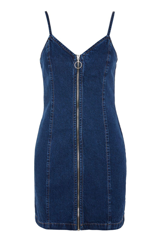 5eaf2c1556c Zip Denim Dress - New In Fashion - New In