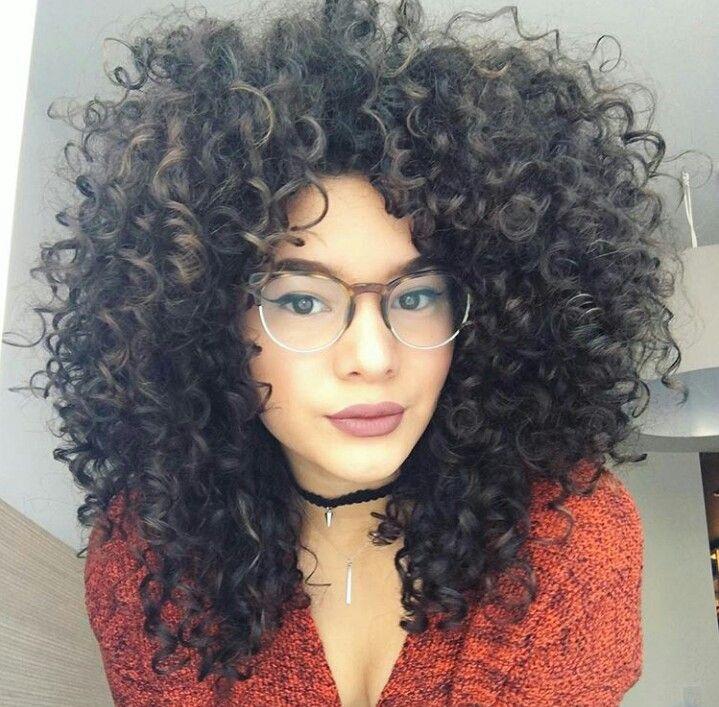 Pinterest Jazxlove ˜�☾ Penteados Para Cabelos Cacheados
