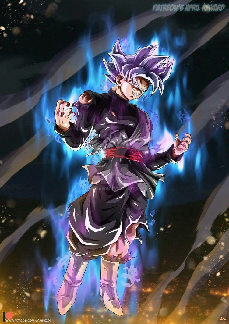 Black Goku Migatte No Gokui Maniaxoi Dragon Ball Super Manga