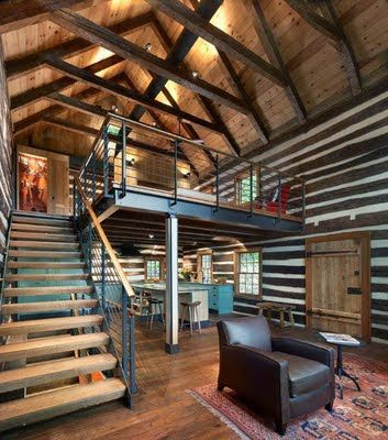 Rustic Gorgeous Barn Renovation Architecture