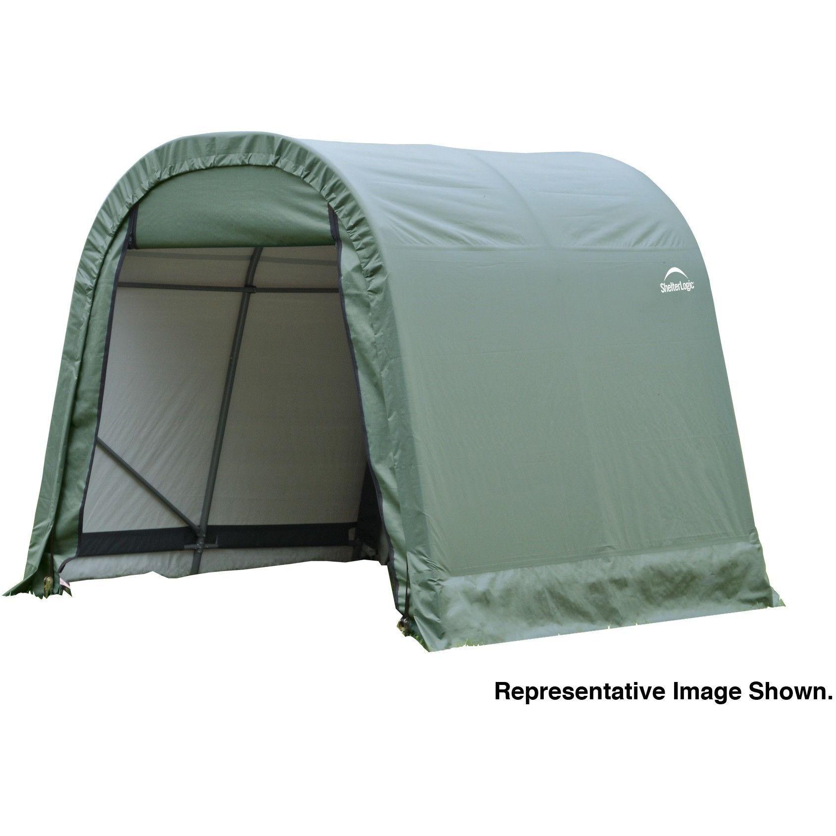 ShelterLogic GREEN SHELTERCOAT ROUND STD 8 X 16 X 8 76824