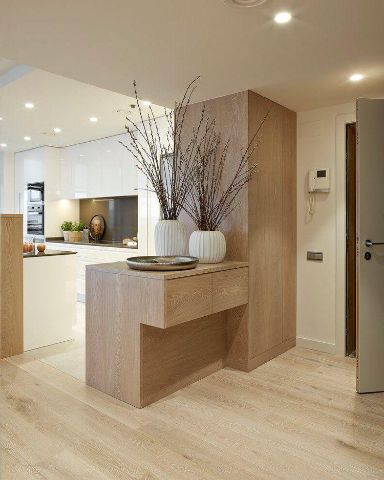 wandfarbe cremewei moderne wei e wohnwelt in barcelona k che pinterest wohnen haus. Black Bedroom Furniture Sets. Home Design Ideas