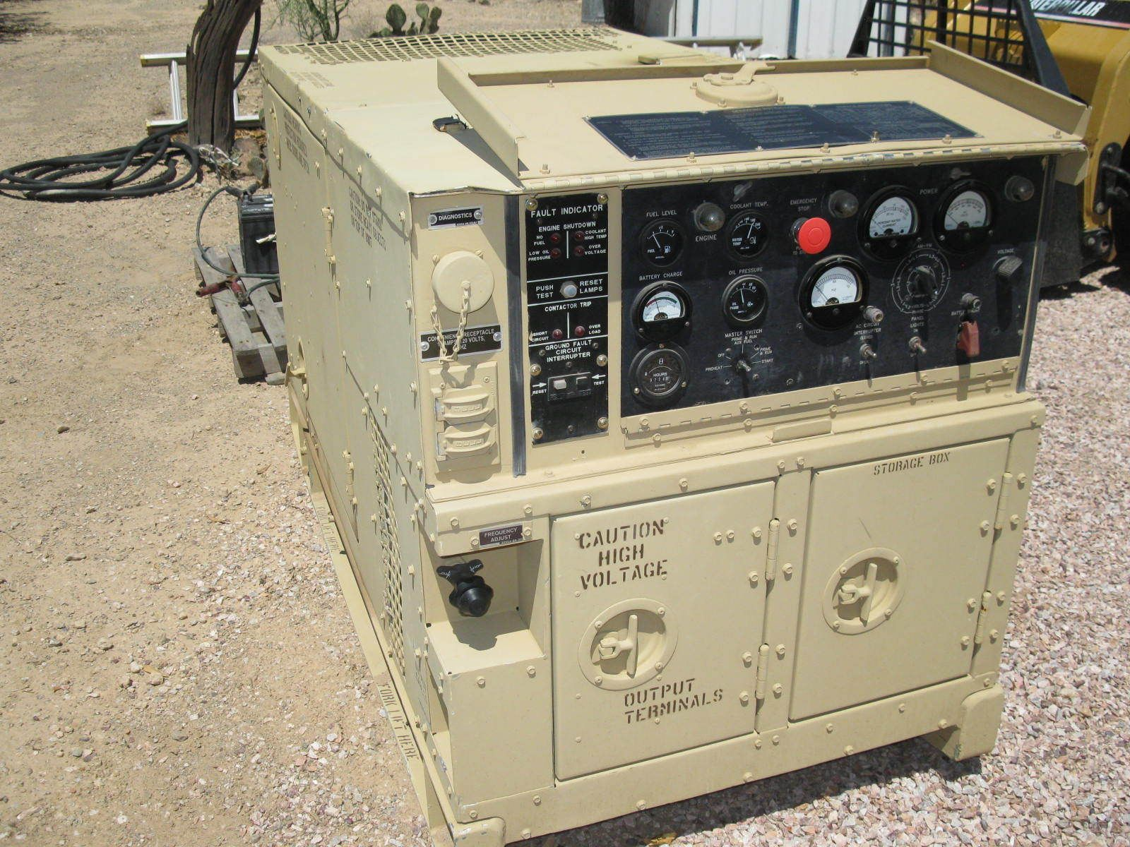 Military Generator 2006 MEP-803 MEP803A 10KW Diesel Water Cooled