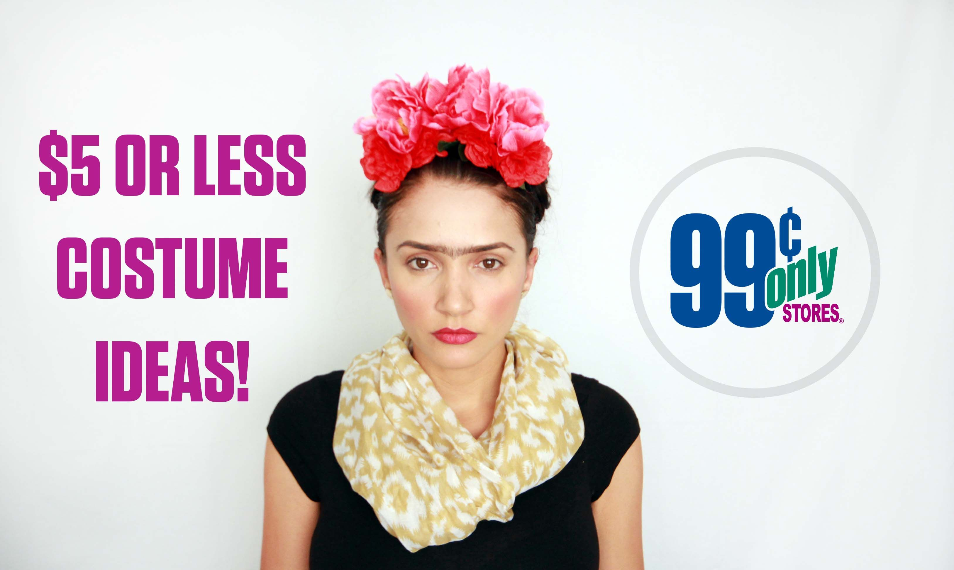 Amazing DIY Halloween Costume Ideas For $5 Or Less From 99 Cents Only Stores
