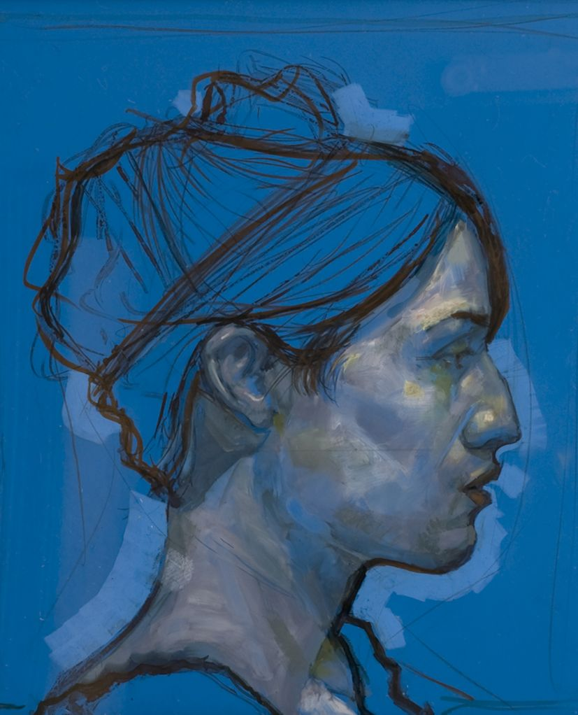 Extrêmement h. craig hanna / charlotte, acrylic and ink on perspex | Portraits  BR41