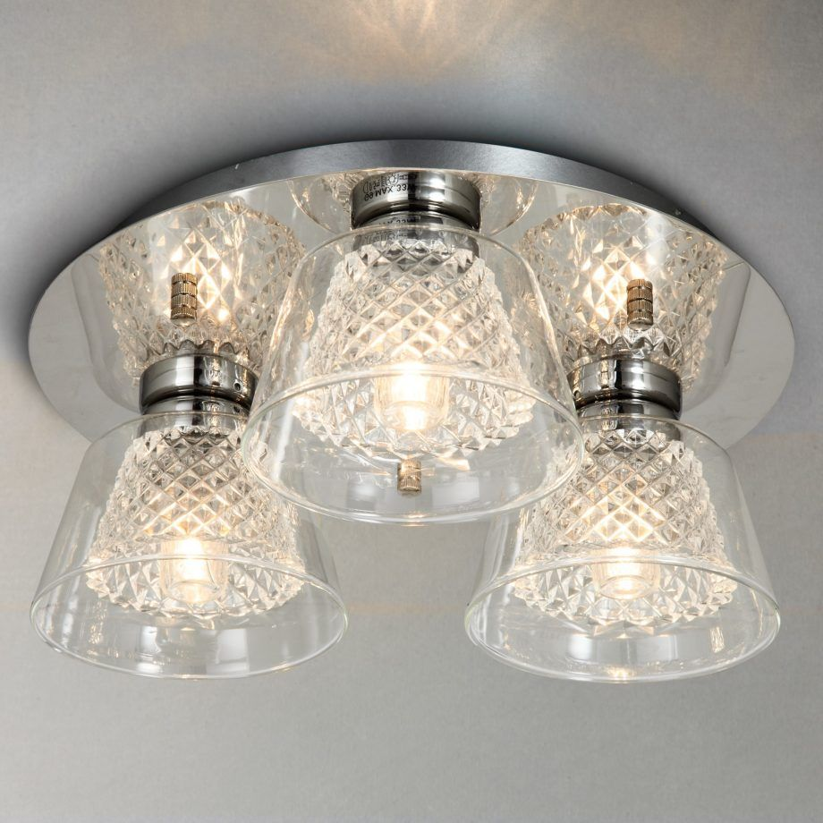 Bathroom Lighting Our Pick Of The Best Crystal Bathroom Flush Lighting Bathroom Ceiling Light