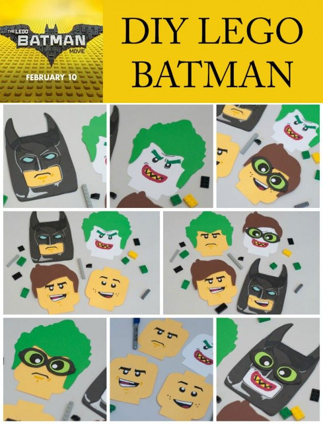 Lego Craft - The LEGO Batman Movie | Lego batman, Lego craft and ...