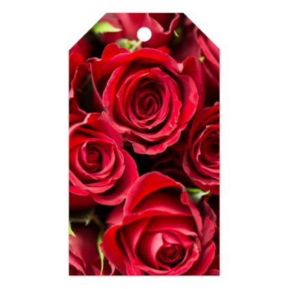 Valentine S Day Red Roses Gift Tags Valentines Day Gifts Gift Idea