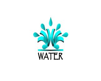 water logo design this logo can be used to describe water drinking rh pinterest com logos deadpool pool company logos