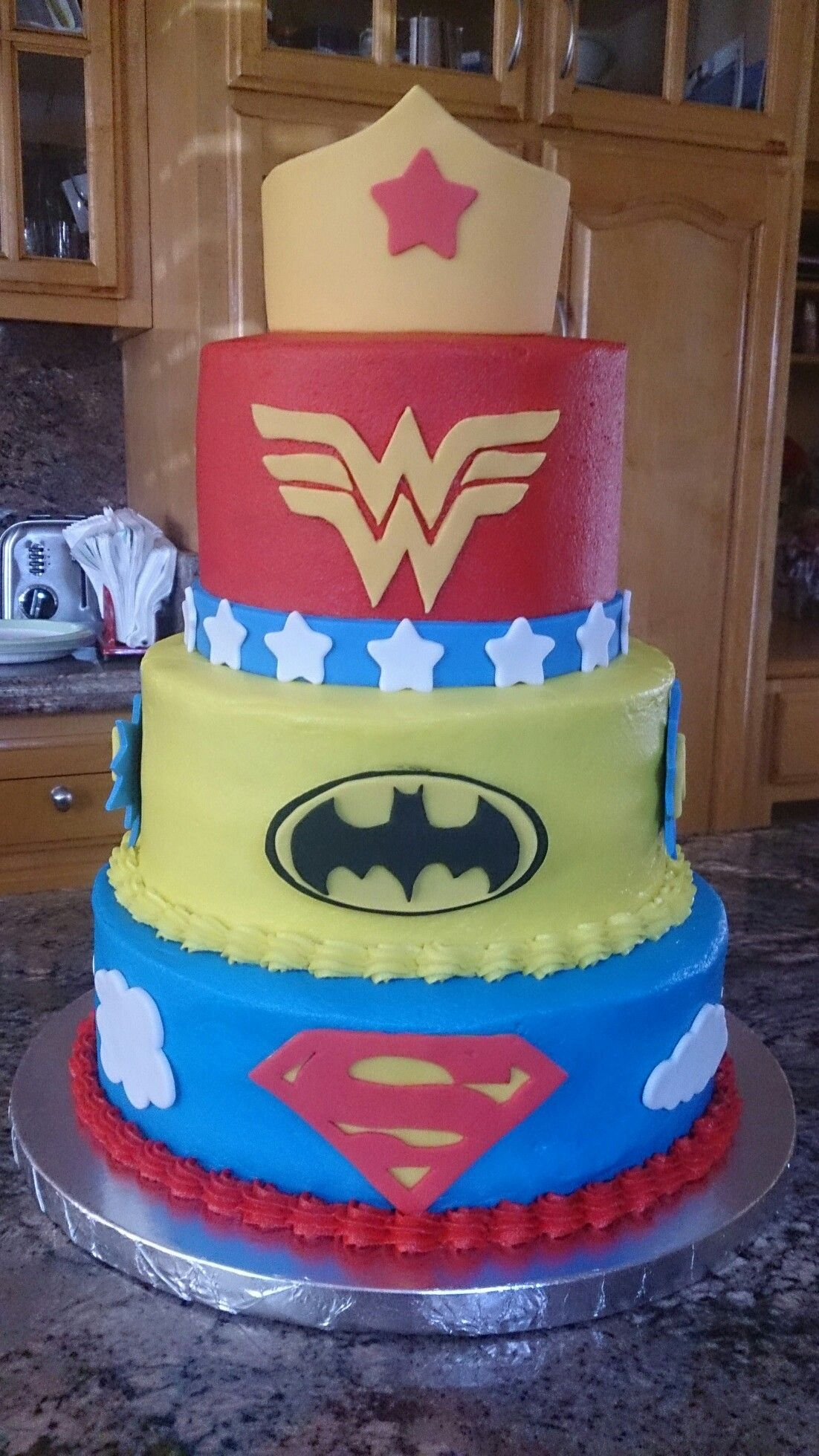 Dc Superhero Girls Cake Superhero Birthday Cake Girl