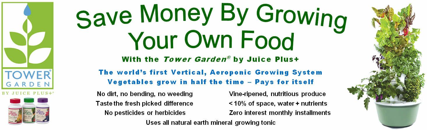 Juice Plus Hydroponic Garden | Sign Hi Res Image Tower Garden Handout Tower  Garden Sign