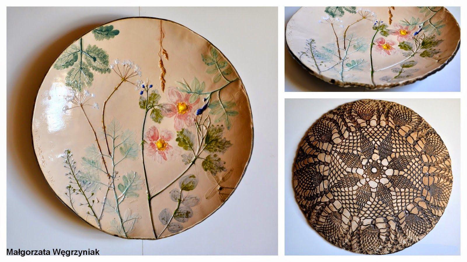 Talerz roślinny polandhandmade.pl, #polandhandmade #ceramic