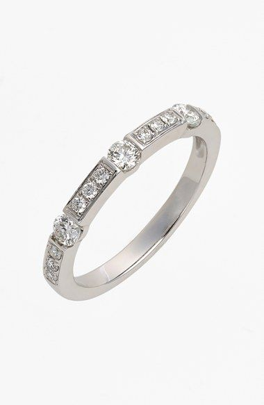 b0b10520d Bony Levy 'Linea' Diamond Band Ring (Nordstrom Exclusive) available at # Nordstrom