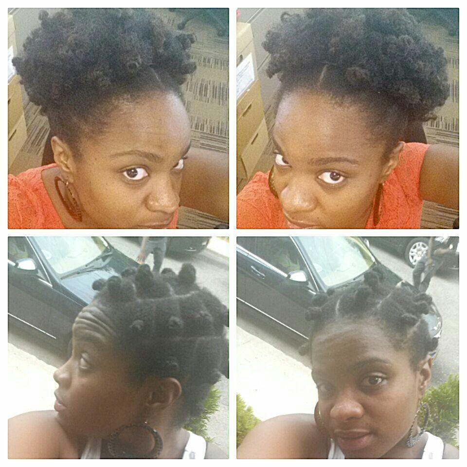 Bantu knotaftermath natural hair dous pinterest bantu knots