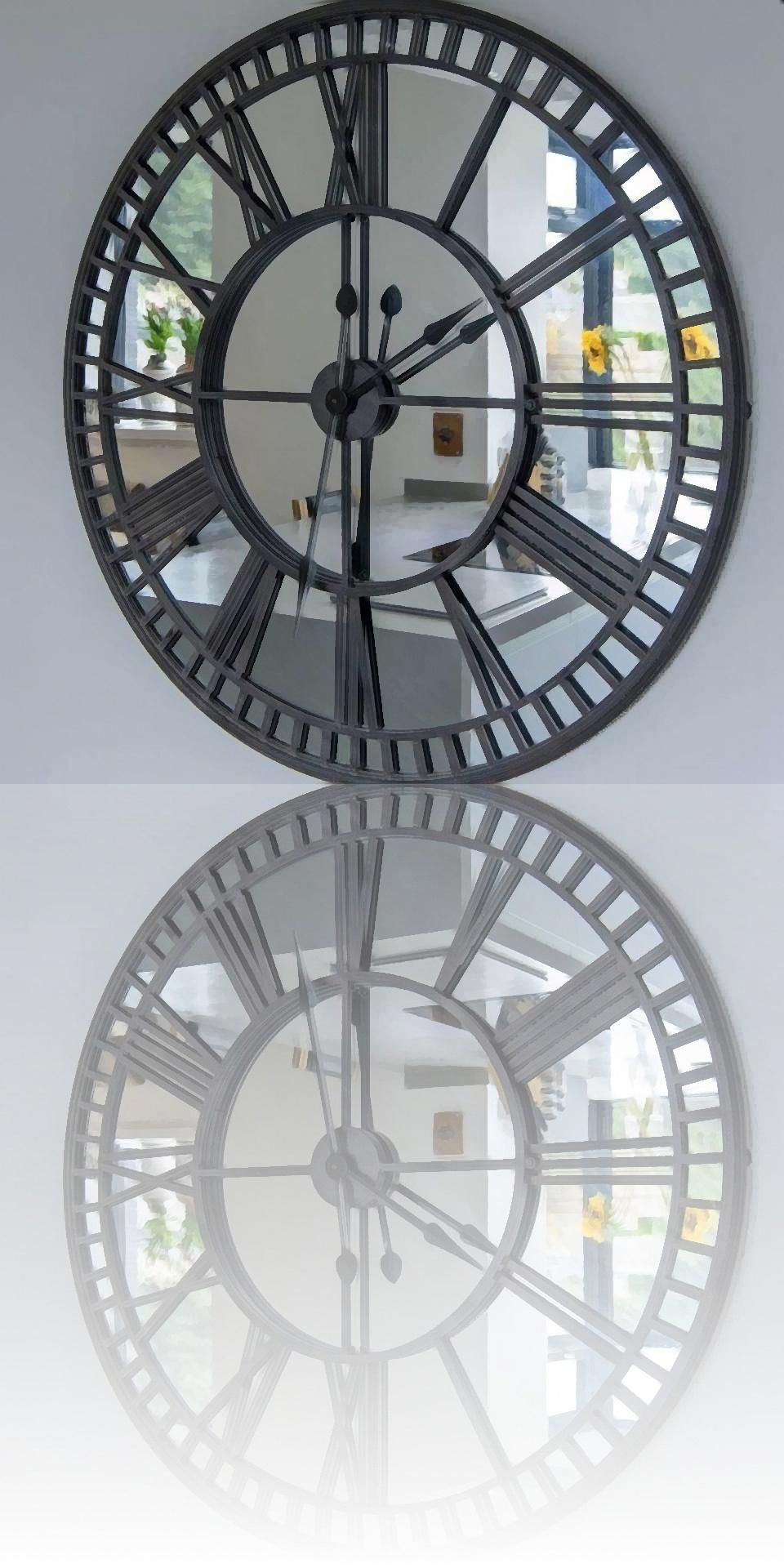 Large Kitchen Clocks Oversized Wall Clock Oversized Wall Clock Black Wall Clock Wall Clock Modern
