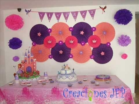 Abanico decoracion para fiestas ideas cumplea os - Abanicos para decorar ...