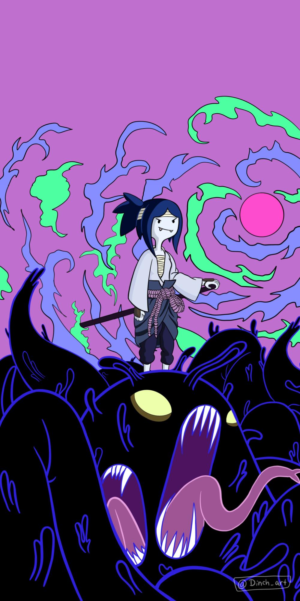 Marceline Uchiha! Naruto in 2020