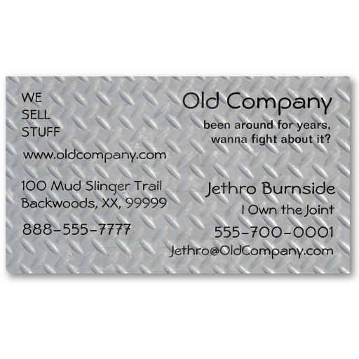 Steel diamond plated safety panel business card pinterest steel diamond plate background business card templates these are cards made of paper not metal in any way but they look like it reheart Gallery