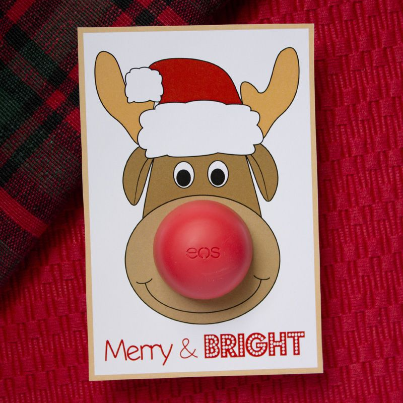 Eos Rudolph The Reindeer Christmas Card Perfect For Teacher Gifts Co Workers And Friends