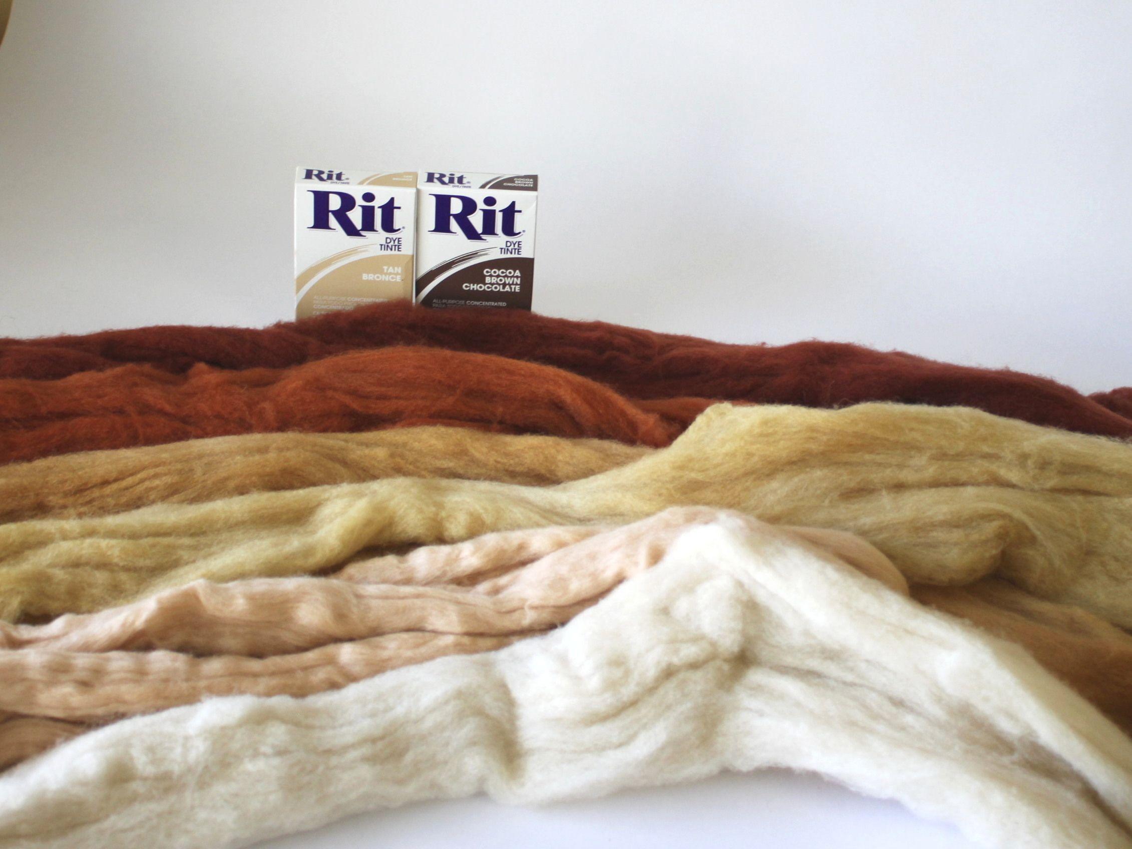 Wool roving How to dye fabric, Roving wool, Decor