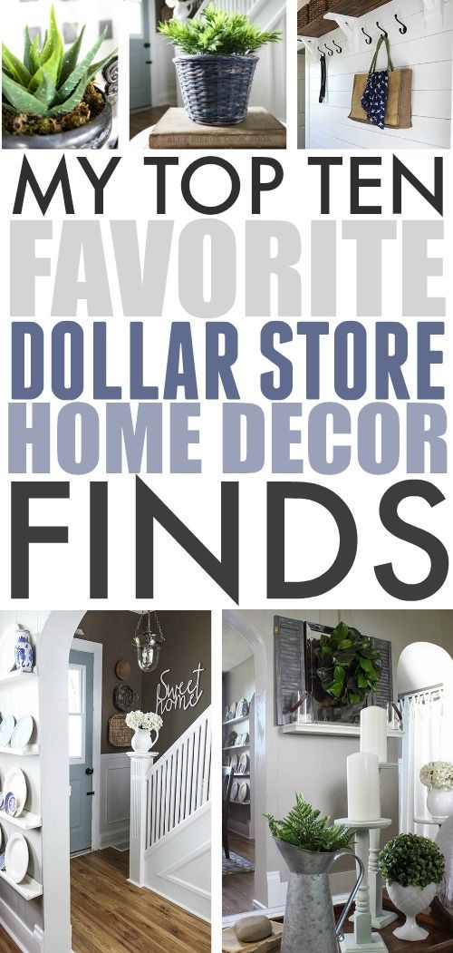 How to's : It's amazing how many dollar store home decor finds I've picked up over the years that have really stood the test of time! Today I thought I'd share a few of my favourites! #DollarStoreHomeDecor #DollarStore #BudgetDecorating