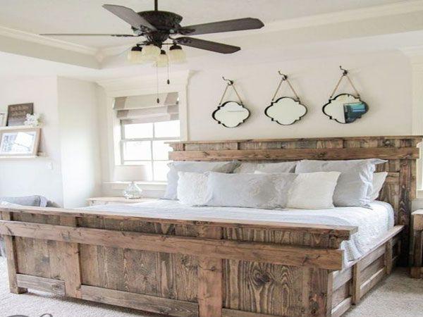 34 Idées de lit en palette bois à faire pour la chambre | At -- Home ...
