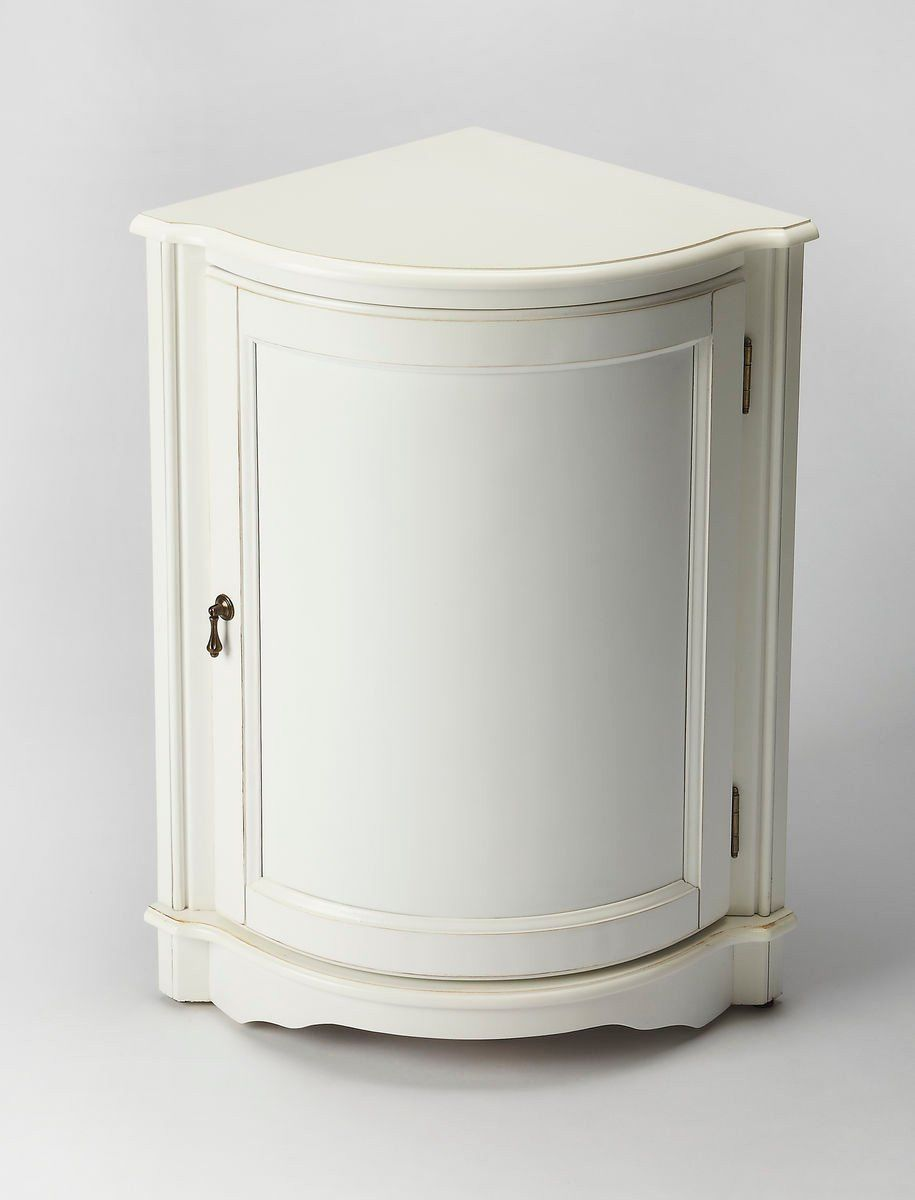 Durham Traditional Quarter Round Corner Cabinet White Kitchencabinetquarterround White Corner Cabinet Corner Cabinet Kitchen Cabinets Makeover