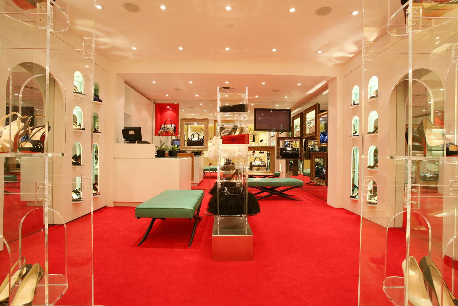is there a christian louboutin store in barcelona