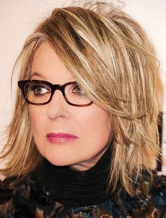 30 Best Medium Length Hairstyles for Over 50 with Glasses Youthful 50s 30 Best Medium Length Hairstyles for Over 50 with Glasses Youthful 50s
