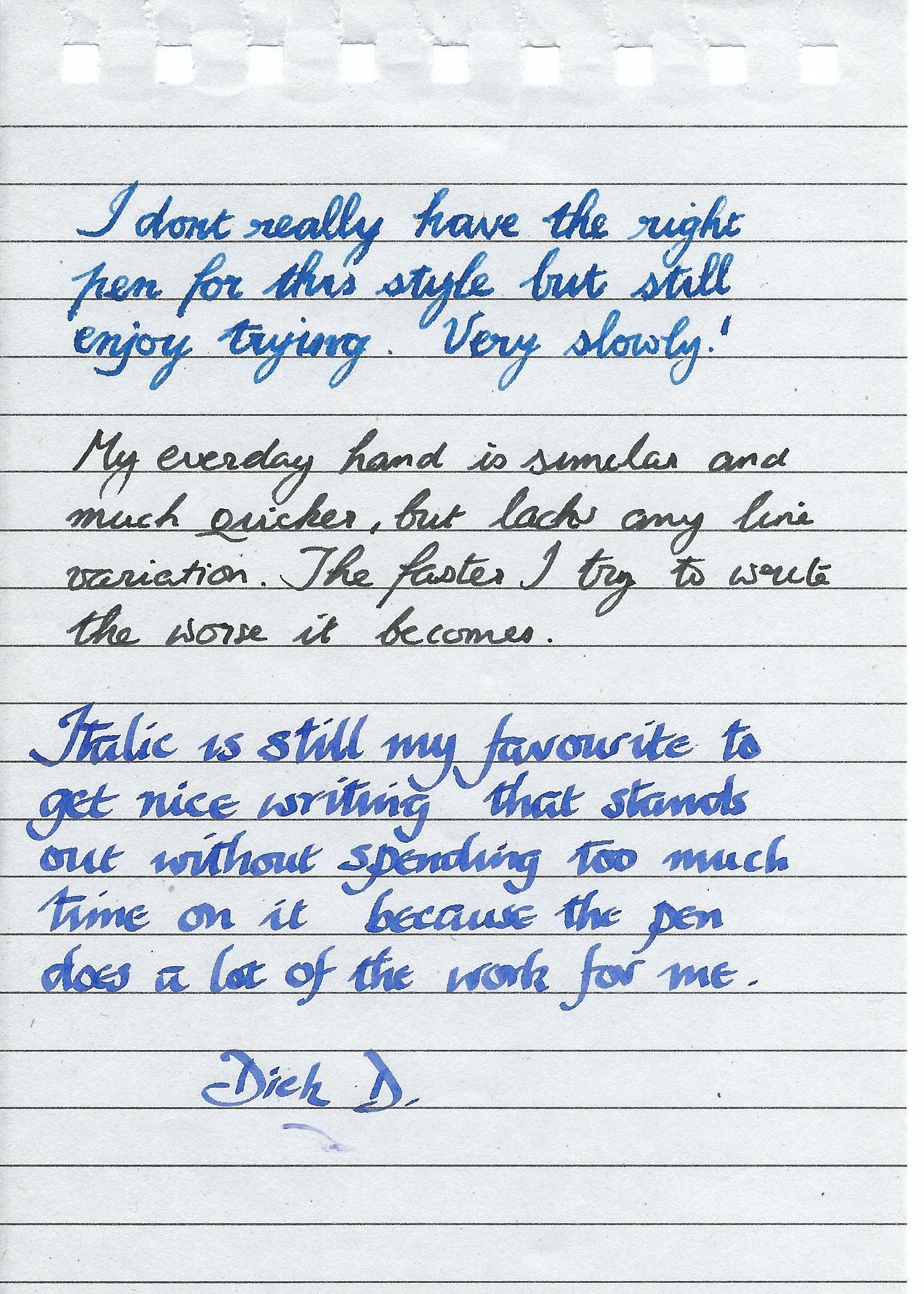 Pin By Dhenuka Sreenivasan On Handwriting Samples
