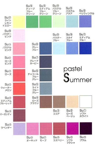 パーソナルカラー でそれぞれの個性がより輝きます ノ