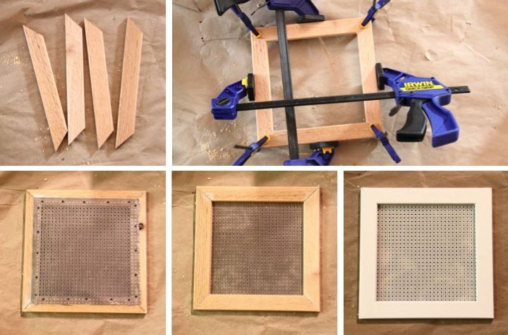 Diy bathroom fan vent cover via home and away with lisa