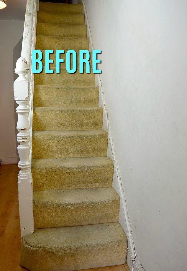 Best Marimekko Stair Transformation Stairs Beige Carpet 400 x 300