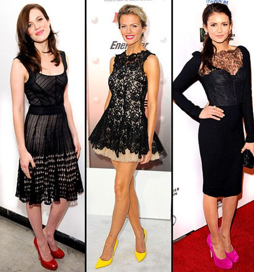 What Shoes To Wear With A Little Black Dress