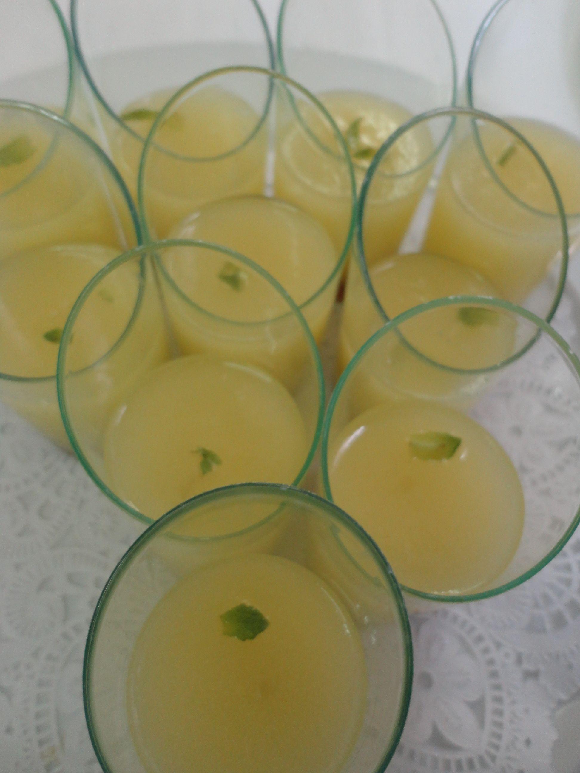 Xupito de crema de meló * Melon shot
