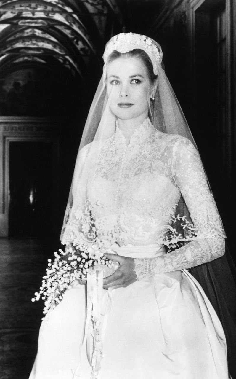 Wedding Dress Princess Grace Kelly | \\ roots | Pinterest | Princess ...