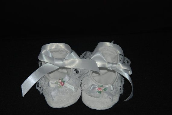 Christening Blessing Bootie