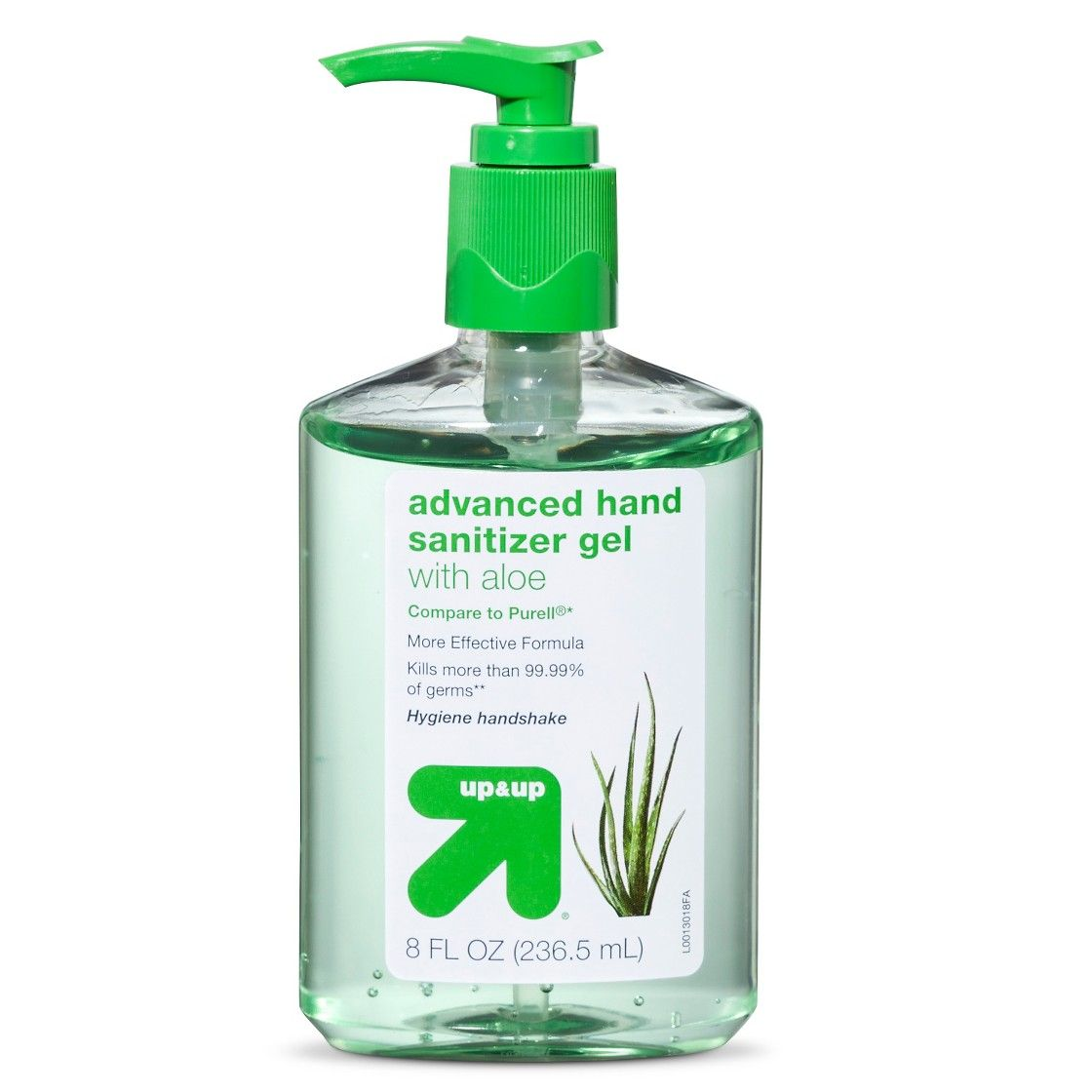Aloe Hand Sanitizer Gel 8 Fl Oz Up Up Aloe Sanitizer