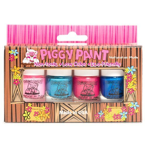 Piggy Paint Nail Polish – 4 Bottle Bo…
