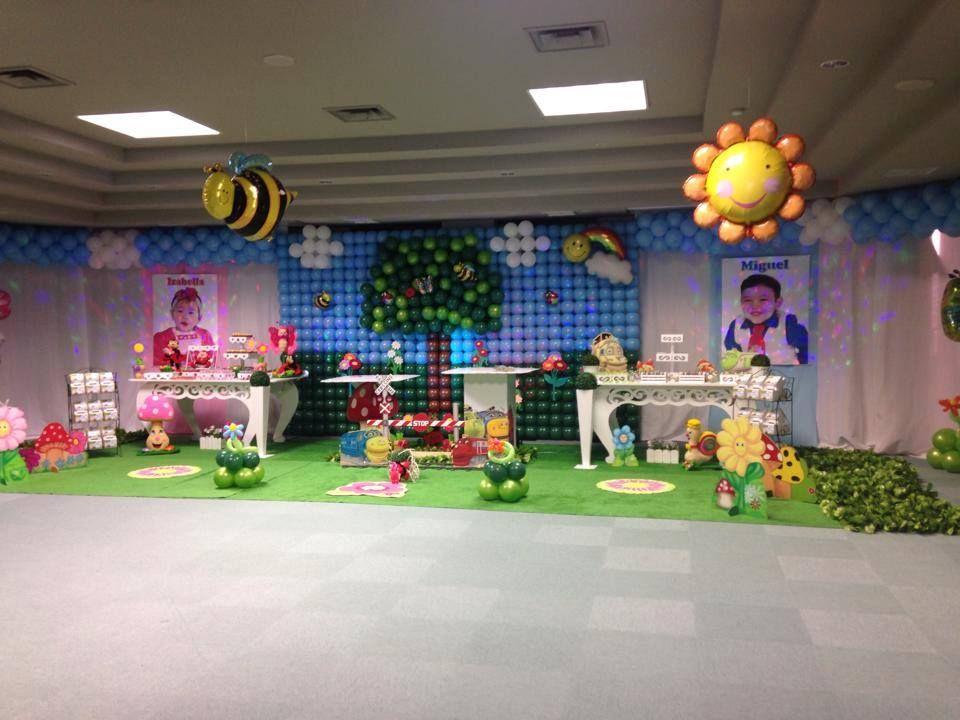 Decoração com Balões Para Festa Infantil.