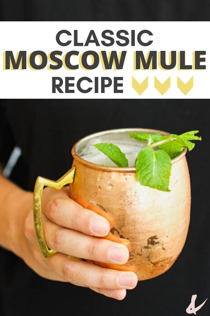 Best Moscow Mule Recipe - The Original! | Cupcakes and Cutlery