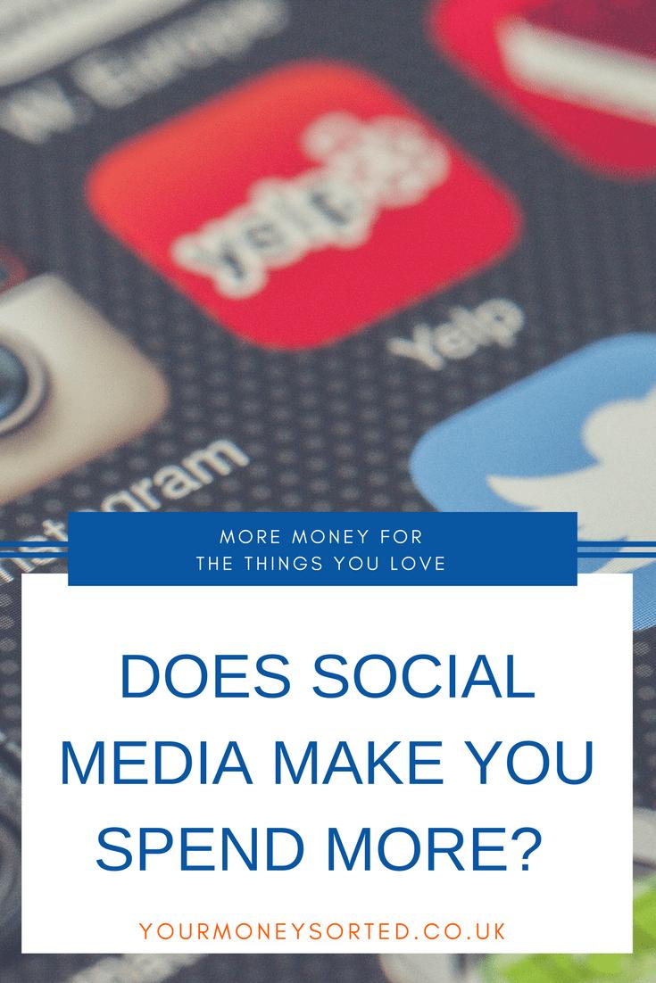 Does Social Media Make You Spend Money   Money Saving Tips