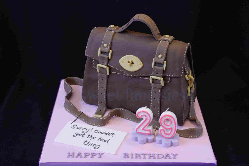 Miu Miu Purse Cakes 3d Designer Handbag Birthday Cake By Sweet