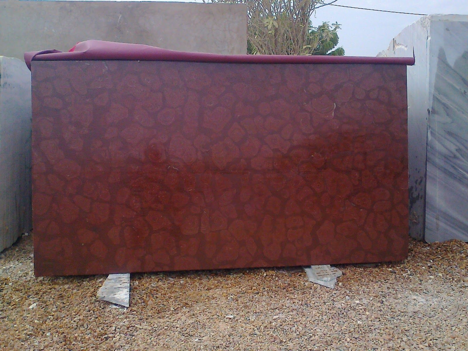 Oman Red Marble is a premium quality & exclusive stone product of