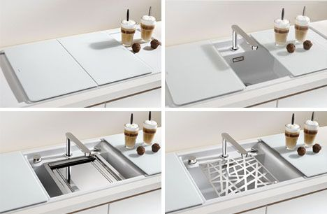 The Safety Gl Cover Fits On Top Of Sink To Create More Worke Or Hide Dirty Dishes Small Upper Tray Is Perfect For Storing Your Sp