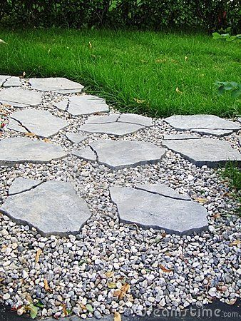 Pavers and river stones