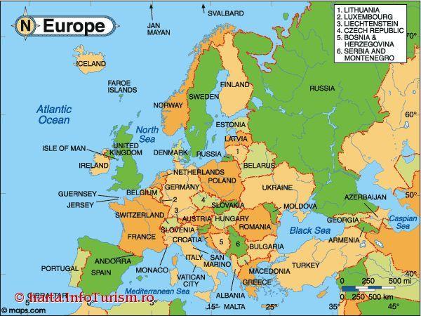 Imagini Pentru Harta Europei Hartă Imagine